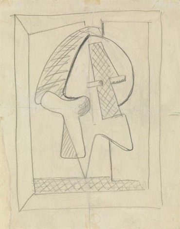 untitled abstract composition by arshile gorky