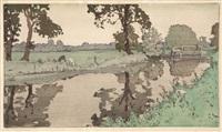 wiston river by frank morley fletcher