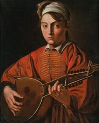 ein junger mann mit laute by michelangelo merisi da caravaggio