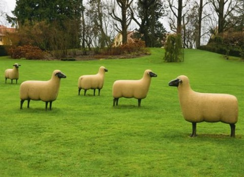 moutons (various works) by françois-xavier lalanne
