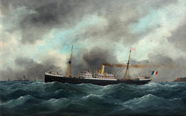 le cargo amiral duperre des changeurs réunis by édouard adam