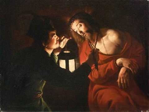 cristo deriso by trophîme theophisme bigot the elder