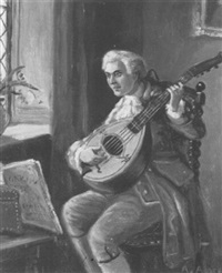 the mandolin player by alexander austen