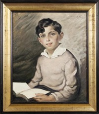 ritratto di fanciullo by cafiero filippelli