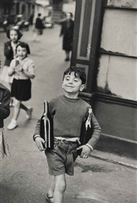 rue mouffetard by henri cartier-bresson