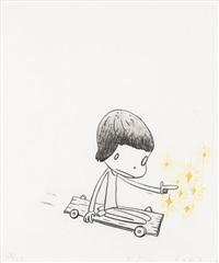 dizzy on wheels by yoshitomo nara