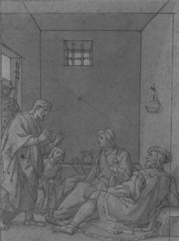 joseph en prison by lazzaro tavarone