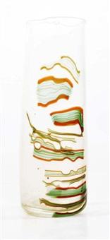 vase rouleau déformé, by fulvio bianconi