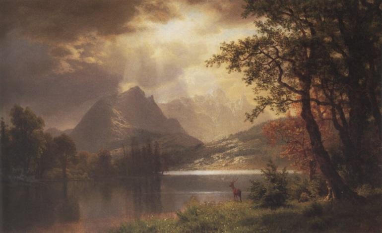 estes park colorado by albert bierstadt on artnet