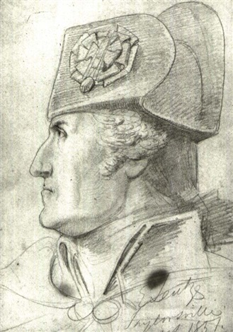 portrait of george washington a study from washington crossing the delaware by emanuel gottlieb leutze