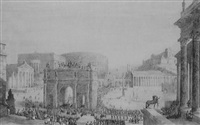 a reconstruction of the roman forum by frabcus vyvyan jago arundale