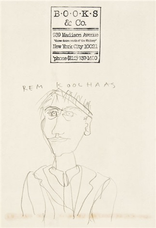 self portrait by rem koolhaas