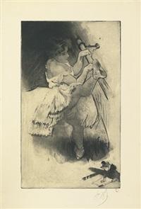 on se tourne (from les petites du ballet series) by louis legrand