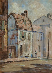 pink house, chalmers street charleston by elizabeth o'neill verner