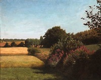 summer landscape by ove haase