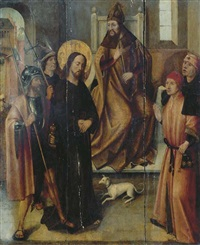 christ before pilate by flemish school (15)