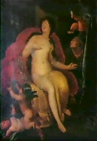 danae and the shower of gold by augustus (snip) terwesten