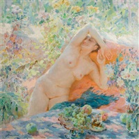 summer dreaming by jiang qi