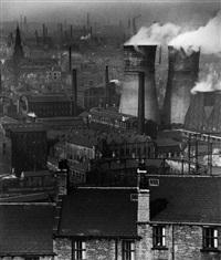 smokestacks, london by bill brandt