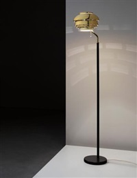 standard lamp, model no. a 808, designed for the national pensions institute, helsinki by alvar aalto
