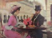 couple en terrasse by victor guerrier