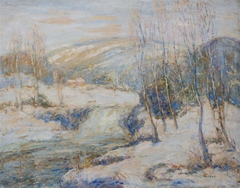 snowbound by ernest lawson