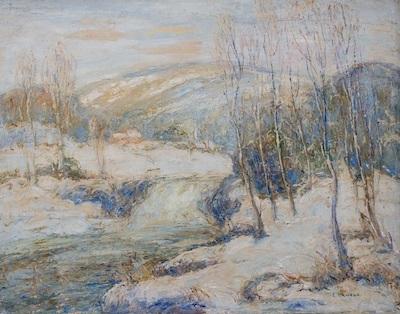 snowbound by ernest lawson