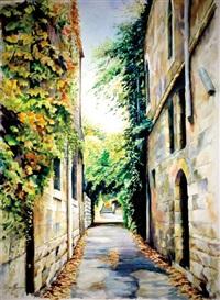 across bakaa street, jerusalem by beni gasenbauer