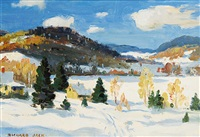 in the laurentians by richard jack
