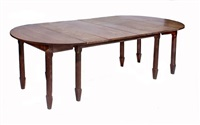 an arts & crafts large dining table by ernest william gimson
