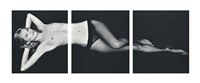 kate moss, triptych, london by bryan adams