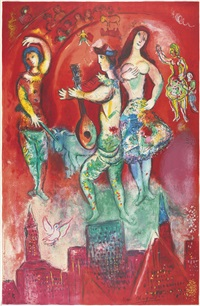 carmen (by charles sorlier) by marc chagall