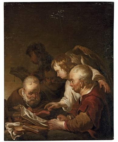 the four evangelists by jan van noordt