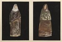 projets de costume pour la pièce adaptée par jean-paul sartre, les troyennes d'euripide (22 works) by yannis tsarouchis