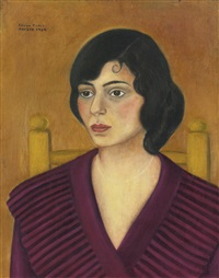 portrait of miriam penansky by frida kahlo