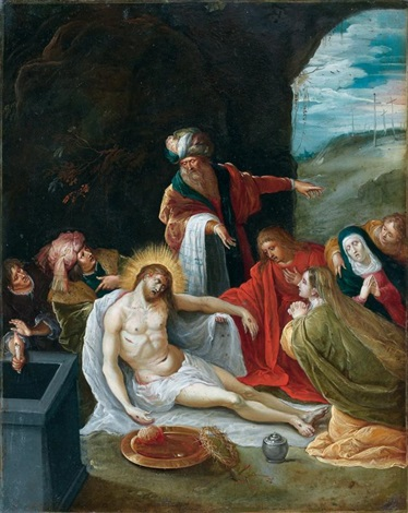 la déploration du christ by frans francken the younger