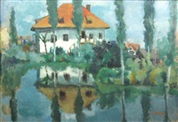 house near the lake by nina batalli-cosmovici