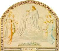 santa mater dei coronata by eugène emmanuel amaury-duval (pineu)