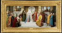 the marriage of the virgin by jean-baptiste auguste leloir