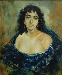 ritratto di donna by mario tabacci