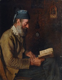 reading fisherman by alfred pierre joseph jeanmougin