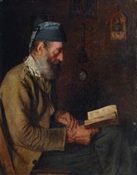 reading fisherman by alfred pierre joseph jeanmougin