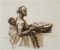 african madonna by herman bailey