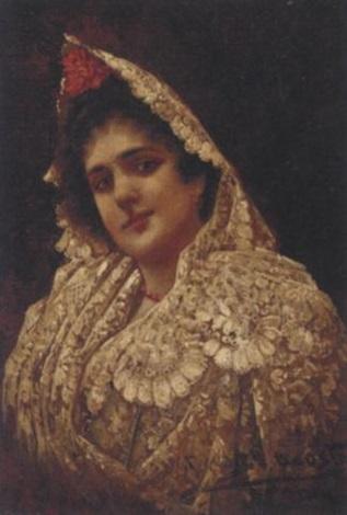 a spanish beauty by adolfo aguila acosta