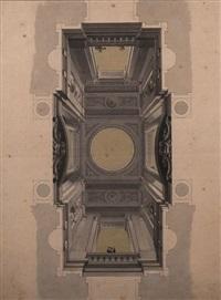 un plafond (design) by carl gotthard langhans