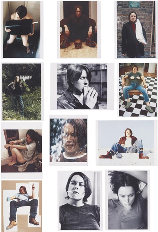 self portraits 1990 1998 complete portfolio of 12 works by sarah lucas