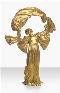 danseuse a l'echarpe by agathon léonard