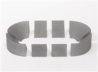 untitled (wedges) (in 8 parts) by robert morris