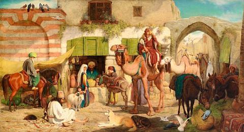 a street in jerusalem by william j. (webbe) webb