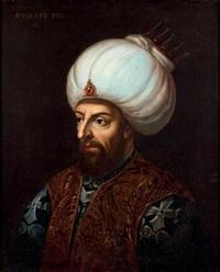 portrait de murat iii by italian school-venetian (19)
